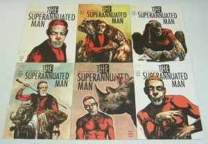 Ted McKeever's Superannuated Man #1-6 VF/NM complete series - animals take over