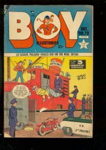 BOY COMICS #72 1951-CHARLES BIRO-ATOM BOMB-IRON JAW-HOT VG
