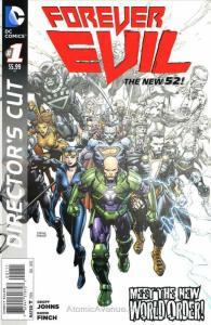 Forever Evil #1G VF/NM; DC   save on shipping - details inside