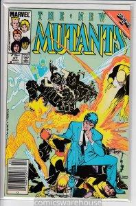 NEW MUTANTS (1983 MARVEL) #37 VF/NM A19122