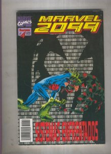 Marvel 2099 numero 04: choca y arde (numerado 2 en trasera)