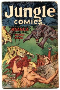 Jungle Comics #160 1953- Tiger Girl by Matt Baker G-
