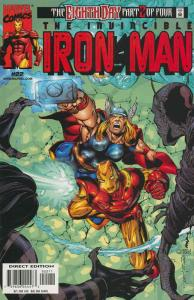 Iron Man (3rd Series) #22 VF/NM; Marvel | save on shipping - details inside