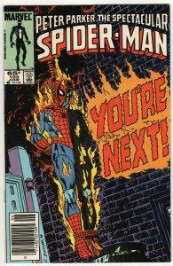 Spectacular Spider-Man #103 (Marvel, 1985) FN