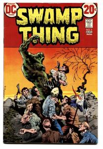 SWAMP THING #5-DC 1973--BERNI WRIGHTSON-VF