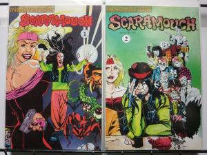 SCARAMOUCHE 1-2  Vertigo-ish supernatural romp!