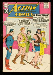 ACTION COMICS #279 1961-SUPERGIRL-SUPERMAN-HERCULES VG