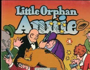 LITTLE ORPHAN ANNIE VOL 4-1934-TPB-HAROLD GRAY FN