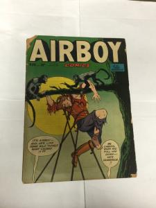 Airboy Comics Volume Vol 7 Issue 10 4.0 Very Good Vg See Pictures