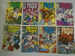 Alpha Flight lot 43 different from #57-100 8.0 VF (1987-91 1st series)