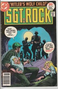 Sgt. Rock #310 (Nov-77) FN+ Mid-High-Grade Sgt. Rock and Easy Company