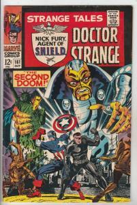 Strange Tales #161 (Oct-67) VF/NM High-Grade Nick Fury, Dr. Strange