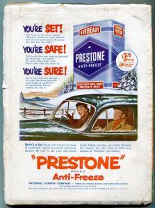 Thrilling Wondering Stories Pulp December 1951- Fletcher Pratt- Rocket cover