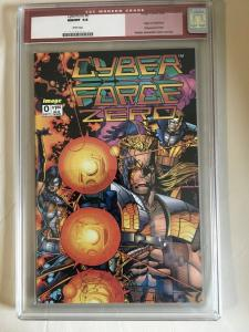 Cyberforce #0 CGC GRADED 9.8 -HIGHEST GRADED- origin - wraparound cover 9/93