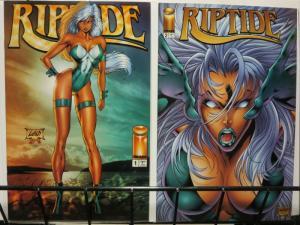 RIPTIDE (1995 IM) 1-2 LIEFELD/STEPHENSON/PARK/MENDOZA;