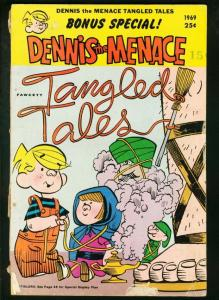 DENNIS THE MENACE GIANT #70 1969-FAWCETT-TANGLED TALES G