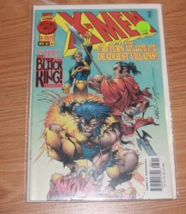 X MEN # 63 1997, Marvel  black king woverine CANNONBALL HELLFIRE CLUB