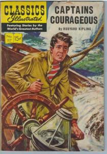 Classics Illustrated 117 (Original) Mar 1954 VG- (3.5)