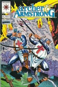 Archer & Armstrong (1992 series) #25, NM (Stock photo)