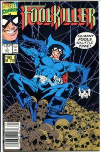 FOOL KILLER #1, NM+, So many Fools, so little Time, 1990, Foolkiller, Marvel