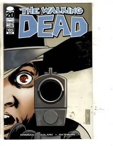 The Walking Dead # 105 NM 1st Print Image Comic Book Rick Carl Negan Maggie TW64