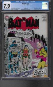 Batman #121 (1959) CGC Graded 7.0