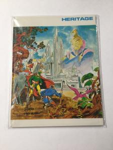 Heritage Flash Gordon Volume 1a 1b Set Nm Near Mint Unknown Publisher