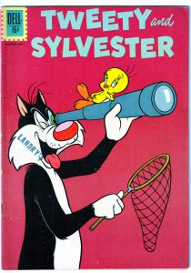 Tweety and Sylvester(Dell)# 36  Road Runner 2nd Feature
