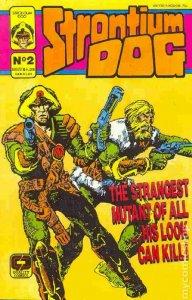 STRONTIUM DOG #2, VF, Ezquerra, Quality Comics, 1987  more Indies in store