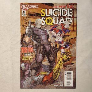 Suicide Squad 3 Very Fine+ Cover by Ken Lashley