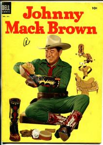 Johnny Mack Brown-Four Color Comics #541 1954-Dell-photo cover-B-Western-FN