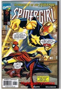 SPIDER-GIRL #7,  NM+, Daughter of Spider-man, Nova,1998, more in store