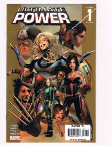 Ultimate Power # 1 Marvel Comics Hi-Res Scans Modern Age Great Issue WOW!!!!! S4