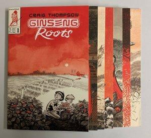 Ginseng Roots #1-7 Set (Uncivilized Comics 2019) Craig Thompson (9.2+)
