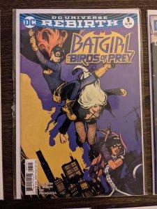 DC UNIVERSE REBIRTH: BATGIRL - BIRDS OF PRETY #1 MOVIE KEY!