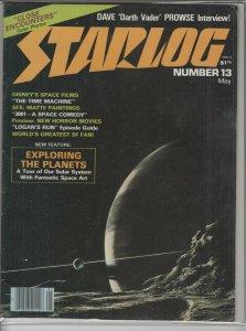STARLOG MAGAZINE #13 F A04975