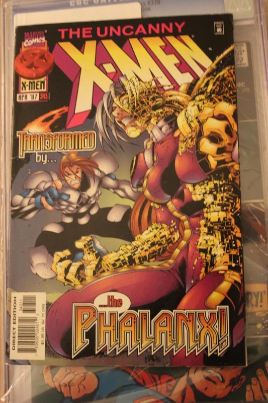 The Uncanny X-Men 343 VF
