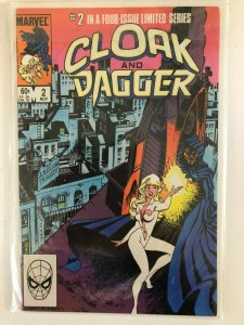 CLOAK and DAGGER #2 IN A 4 ISSUE MINI SERIES--1983 MARVEL / HIGHQUALITY
