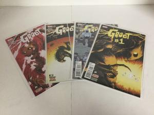 Groot 1-4 Lot Set Run Nm Near Mint Marvel Comics
