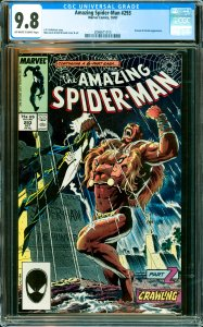 Amazing Spider-Man #293 CGC Graded 9.8 Kraven & Vermin appearance.