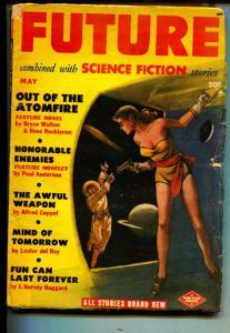 Future-Pulp-5/1951-Leo Morey-Bryce Walton-Ross Rocklynne