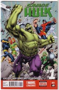 Savage Hulk (vol. 2, 2014) #  1 FN (All-New Marvel Now) Alan Davis, X-Men