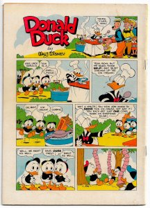 WALT DISNEY'S DONALD DUCK in VOODOO HOODOO (Four Color #238)(1949)VF+ All BARKS!