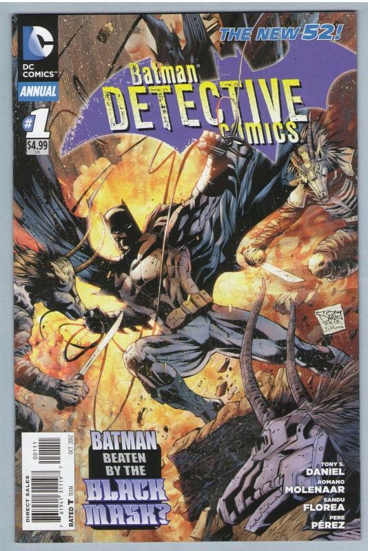 Detective Comics Annual 1 Oct 2012 NM- (9.2) - New 52