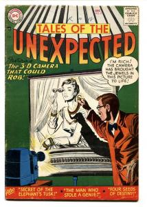 TALES OF THE UNEXPECTED #8 VG 1956- MYSTERY ADVENTURE-DC