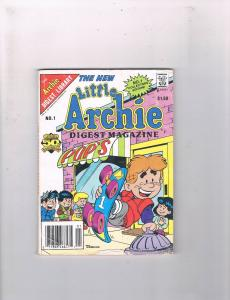 The New Little Archie Digest Magazine # 1 VG Archie Comics Pocket Book Issue S62