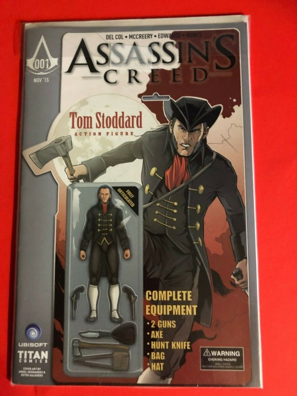ASSASSINS CREED 001 TITAN COMICS 11/15  COLOR CVR / HIGH+ QUALITY