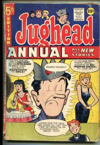 JUGHEAD ANNUAL #5 1957-MLJ/ARCHIE-BETTY-VERONICA-ARCHIE-good+