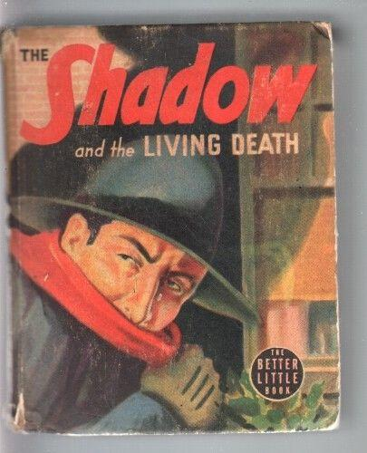 SHADOW AND THE LIVING DEATH-BIG LITTLE BOOK-#1430-1940-PULP VG
