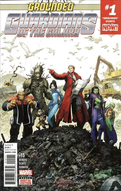 Guardians Of the Galaxy (4th Series) #15 VF/NM; Marvel | save on shipping - deta